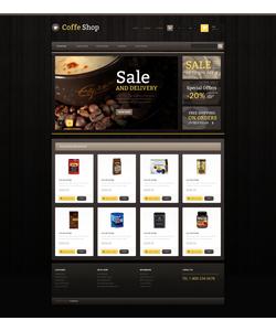 PrestaShop e-shop šablona na téma Café a restaurace č. 46633