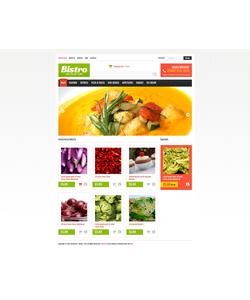 VirtueMart e-shop šablona na téma Café a restaurace č. 46647
