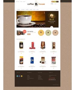 PrestaShop e-shop šablona na téma Café a restaurace č. 46849