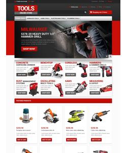 VirtueMart e-shop šablona na téma Nástroje a vybavení č. 46925