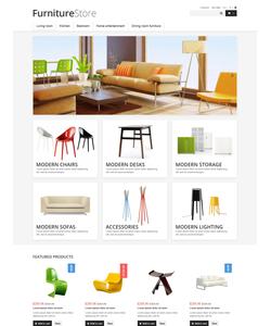 PrestaShop e-shop šablona na téma Interiér a nábytek č. 46975