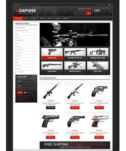 VirtueMart e-shop šablona na téma Vojenské č. 48494