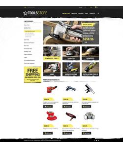 VirtueMart e-shop šablona na téma Nástroje a vybavení č. 48847