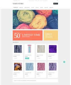 VirtueMart e-shop šablona na téma Hobby č. 50694