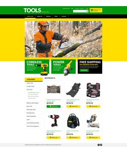 VirtueMart e-shop šablona na téma Nástroje a vybavení č. 51330