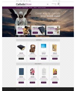 VirtueMart e-shop šablona na téma Náboženství č. 51365