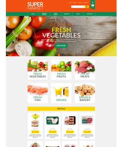 VirtueMart e-shop šablona na téma Jídlo a pití č. 52667