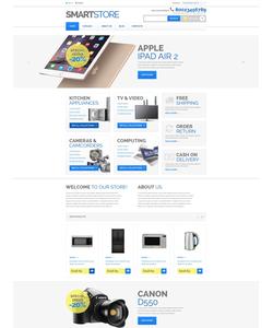 VirtueMart e-shop šablona na téma Počítače č. 52903