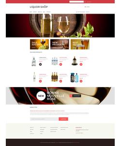 VirtueMart e-shop šablona na téma Jídlo a pití č. 53281