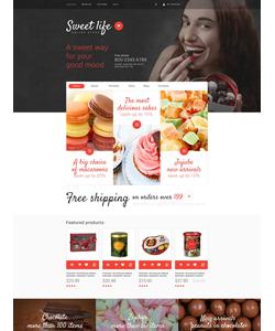 WooCommerce e-shop šablona na téma Café a restaurace č. 53892