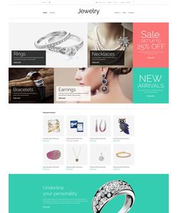 VirtueMart e-shop šablona na téma Šperky č. 53910