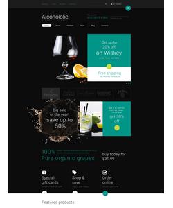 WooCommerce e-shop šablona na téma Jídlo a pití č. 53953