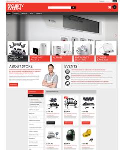 VirtueMart e-shop šablona na téma Bezpečnost č. 53981