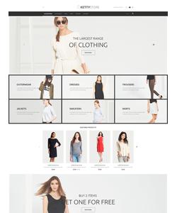 VirtueMart e-shop šablona na téma Móda č. 54622