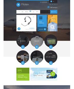 WooCommerce e-shop šablona na téma Doprava č. 54736