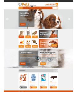 WooCommerce e-shop šablona na téma Zvířata č. 54868