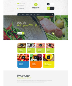 WooCommerce e-shop šablona na téma Café a restaurace č. 55204