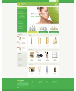 VirtueMart e-shop šablona na téma Krása č. 55215