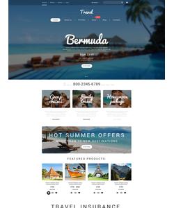 WooCommerce e-shop šablona na téma Cestování č. 55230