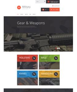 VirtueMart e-shop šablona na téma Vojenské č. 55357