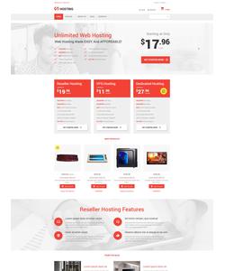 VirtueMart e-shop šablona na téma Hosting č. 55367