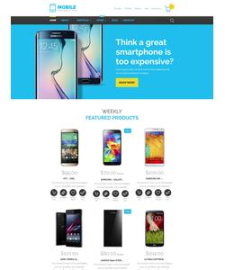 WooCommerce e-shop šablona na téma Elektronika č. 55429