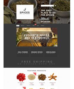 WooCommerce e-shop šablona na téma Café a restaurace č. 55606