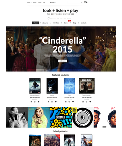 WooCommerce e-shop šablona na téma Hudba č. 55688