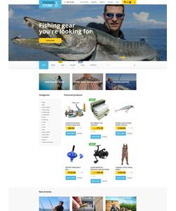 WooCommerce e-shop šablona na téma Cestování č. 55703