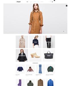 VirtueMart e-shop šablona na téma Móda č. 57624