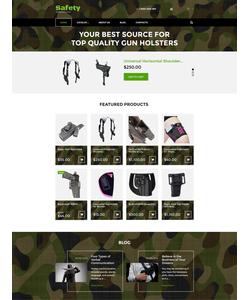 VirtueMart e-shop šablona na téma Bezpečnost č. 57839