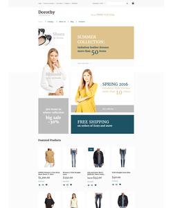 VirtueMart e-shop šablona na téma Móda č. 58084