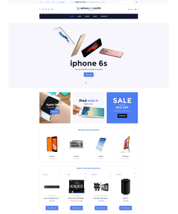 WooCommerce e-shop šablona na téma Elektronika č. 58569