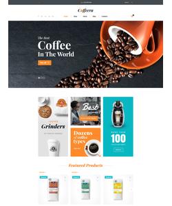 WooCommerce e-shop šablona na téma Café a restaurace č. 58649