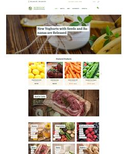 WooCommerce e-shop šablona na téma Jídlo a pití č. 58670