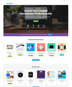 WooCommerce e-shop šablona na téma Software č. 58921