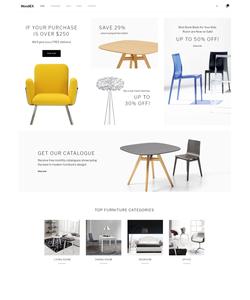 WooCommerce e-shop šablona na téma Interiér a nábytek č. 58923