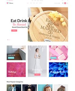 WooCommerce e-shop šablona na téma Dárky č. 59045