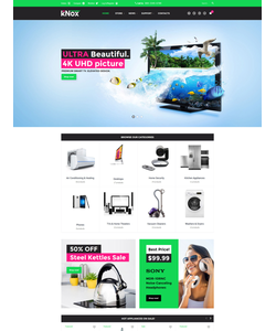 WooCommerce e-shop šablona na téma Elektronika č. 60096