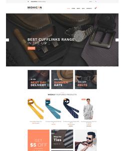 WooCommerce e-shop šablona na téma Móda č. 60098