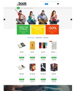 VirtueMart e-shop šablona na téma Knihy č. 61196
