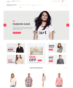 WooCommerce e-shop šablona na téma Móda č. 61199