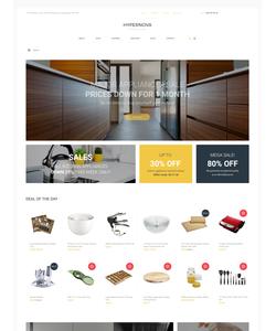 WooCommerce e-shop šablona na téma Interiér a nábytek č. 61251