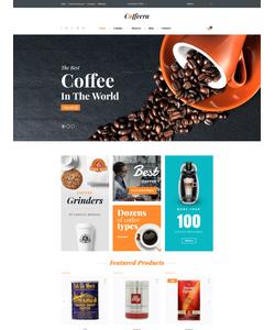 VirtueMart e-shop šablona na téma Café a restaurace č. 61274