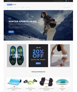 WooCommerce e-shop šablona na téma Sport č. 61301