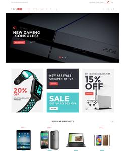 WooCommerce e-shop šablona na téma Elektronika č. 61303