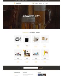 VirtueMart e-shop šablona na téma Pivovar č. 61339