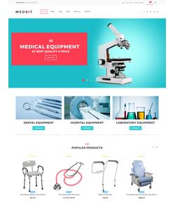WooCommerce e-shop šablona na téma Lékařské č. 62047