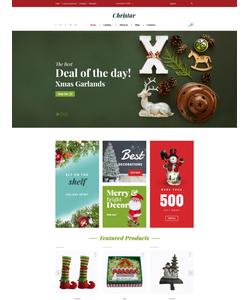 VirtueMart e-shop šablona na téma Vánoce č. 62136