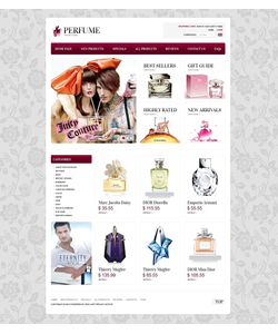 Zen Cart e-shop šablona na téma Krása č. 37699